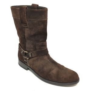 To Boot New York Motorcycle Boots Size 8.5 Brown